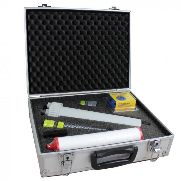 Dr. Keddo Feststofffilter-Set im Alukoffer